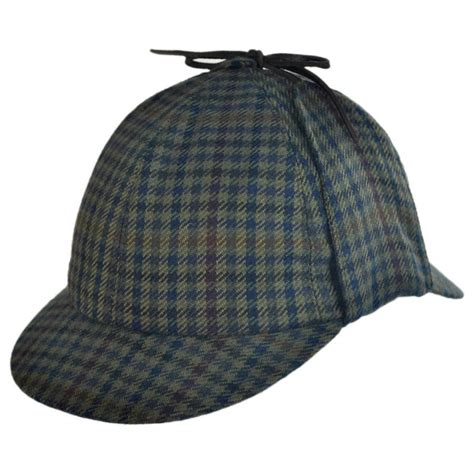 How To Make A Detective Hat Out Of Paper - city sport caps checkered sherlock