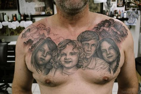 tattoo family photography 69 cool chest tattoos