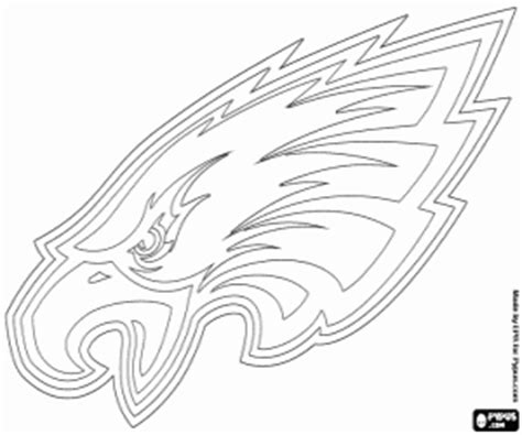 nfl eagles coloring pages nfl logos coloring pages printable games