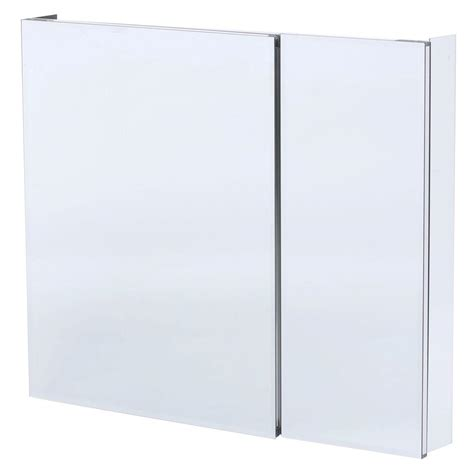 frameless mirrored medicine cabinet recessed pegasus 36 in w x 30 in h frameless recessed or surface