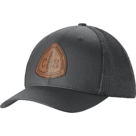 rugged hats columbia rugged outdoor mesh trucker hat backcountry
