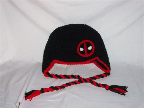 deadpool knit hat deadpool hat i made for my husband he likes it