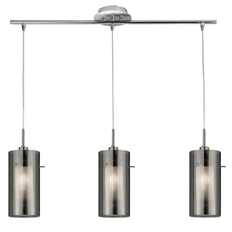 3 Pendant Ceiling Light Searchlight 3303 3sm 3 Light Ceiling Pendant In Polished