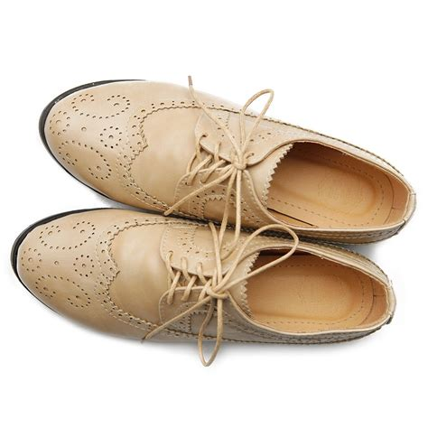 multi colored oxford shoes ollio womens oxfords lace ups low heels wingtip dress