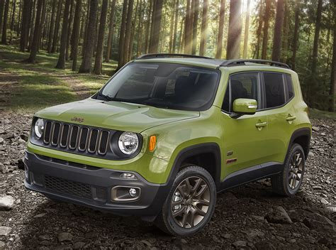 jeep road tires get road wheels and tires on the renegade 75th special