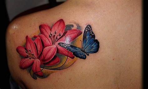 imagenes de dos mariposas juntas tatuajes de flores y mariposas