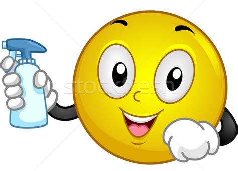 emoji for cleaning cleaning smiley vector illustration 169 lenm 4817229