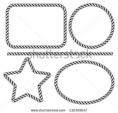 tattoo machine with circle slot frame stock vector rope frame silhouette clipart clipground