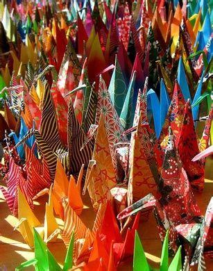 Origami Crane Legend - 1000 paper cranes fold 1000 origami paper cranes says an