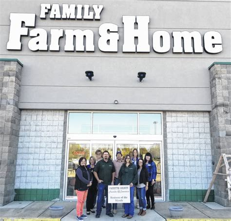 family farm home named business of month the record herald