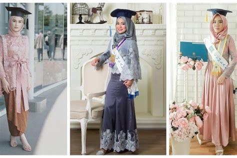 Kombinasi Baju Warna Oren 12 inspirasi kebaya kekinian untuk acara wisuda pilih mana