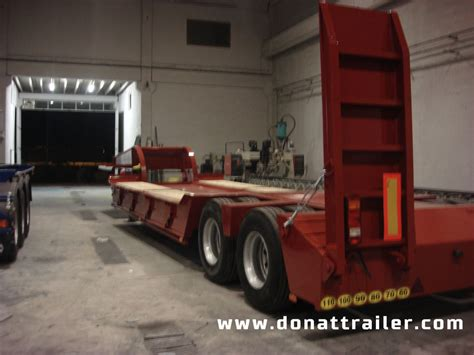 Semi Truck Mattress For Sale by Donat 2 Axle Lowbed Semitrailer Low Bed Semi Trailers For