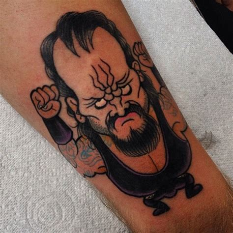 undertaker tattoo pictures 25 cute silly wrestling tattoos staciemayer com