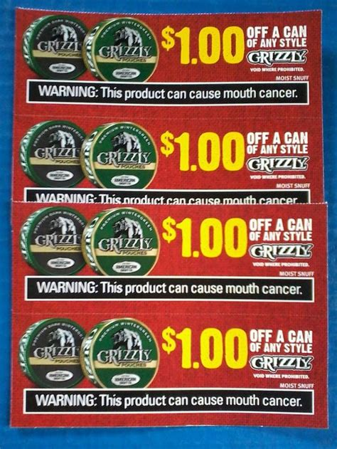 Printable Grizzly Tobacco Coupons 25 best ideas about grizzly snuff on grizzly