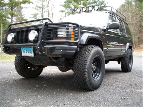 2000 Jeep Sport Front Bumper 2000 Xj Sport Build 17 Yrs 3 Quot Lift 31s Custom Rack