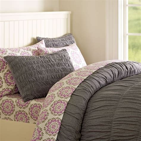 gray ruched comforter gray ruched duvet cover pb teen things to ask the
