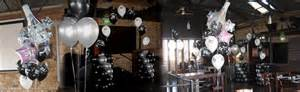 Birthday balloons and event decorating with balloons