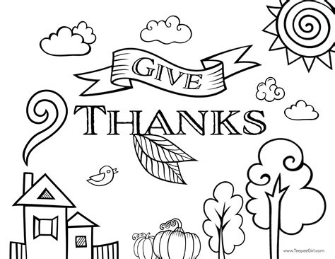 93 thanksgiving coloring pages free and printable