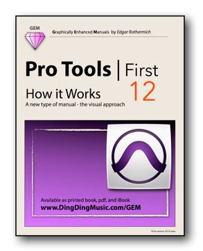 pro tools for and books new pro tools book for v12 audiosex professional audio