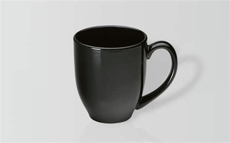 manhattan coffee mug matte black curve shaped mug solid manhattan the mug factory