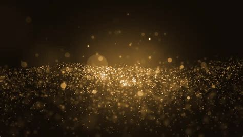 wallpaper hitam glitter background gold movement universe gold dust with stars on