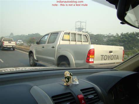 Toyota Trucks In India Toyota Trucks In India Launching Autos Weblog