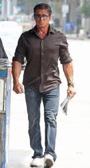 stallone measurements sylvester stallone height weight biceps size