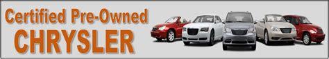 Chrysler Certified Pre Owned Warranty by Louisville Ky Certified Preowned Chrysler Oxmoor Chrysler