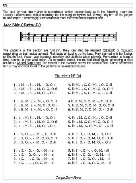 drum pattern book book conga drum fever lessons exercises and rhythms