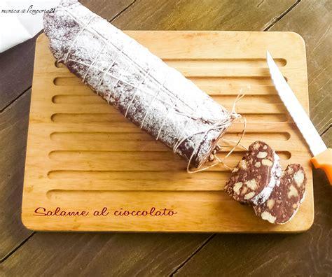 repubblica cucina salame al cioccolato ricette pennacchietti d