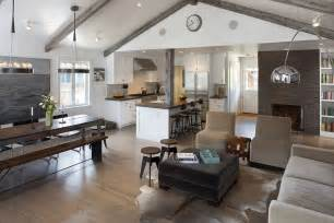 Open Floor Plans With Vaulted Ceilings by Vaulted Ceiling Beams Living Room Farmhouse With Slipper