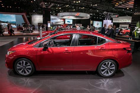 nissan versa 2020 2020 nissan versa a small car with big room news