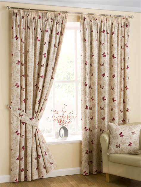ready made drapery panels butterfly ready made pencil pleat curtains fully lined