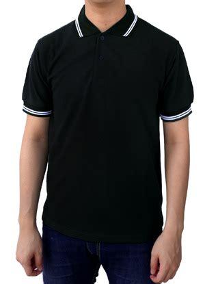 Baju Kaos Pakai Kra kaos kerah polos hitam polo kerah polos murah polo