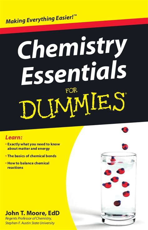 Mba Basics For Dummies by Chemistry Essentials For Dummies Wiley 2010