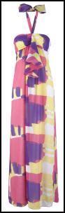 Purple Dresses From Oli by Halter Neck Maxi Dress Fashion 2010