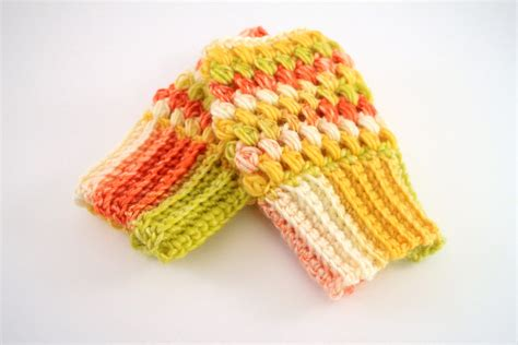 pattern gloves youtube how to crochet puff stitch fingerless gloves left handed