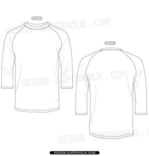 sleeve t shirt template fashion design templates vector illustrations and clip