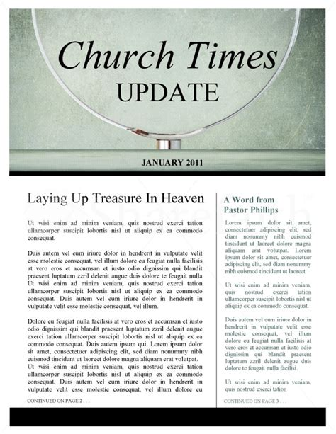 church newsletter templates magnifying glass church newsletter template newsletter