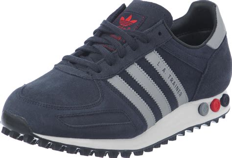 adidas sneaker trainers adidas la trainer shoes blue grey