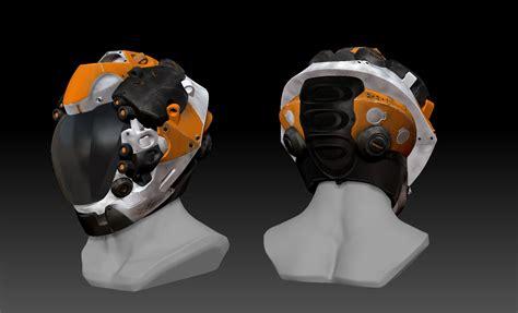 helmet design zbrush hard surface helmet tutorial