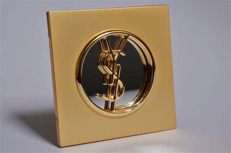 ysl compact makeup mirror gilt  ca french