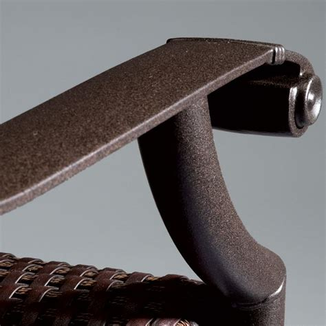 Patio Picnic Table Frame Finishes Powder Coated Aluminum Patio Furniture