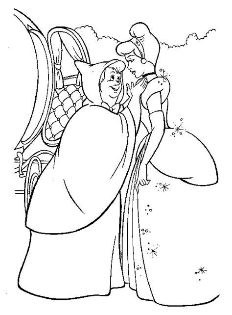 cinderella coloring pages coloringpages1001 com