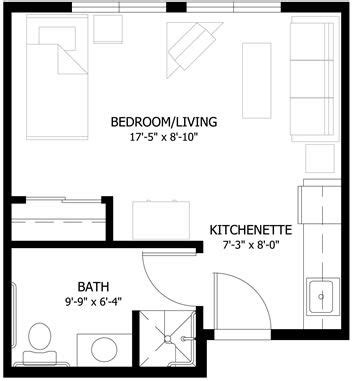 Small Apartment Floor Plan Ideas by Small Studio Apartment Floor Plans Studio Apartment