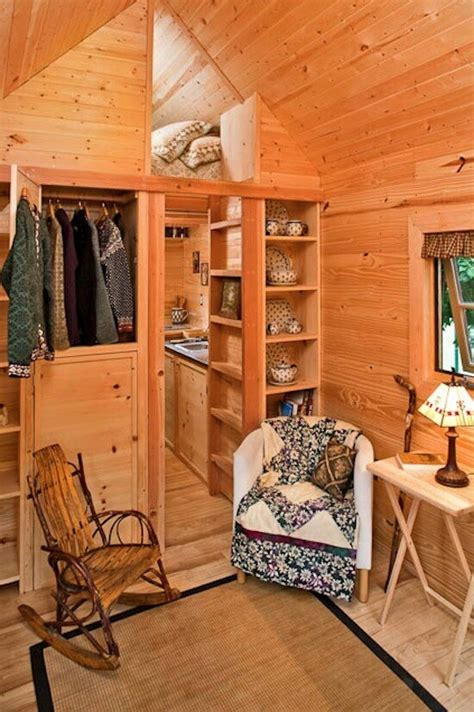 interiors of small homes interior of fencl tumbleweed wee house interior pinterest