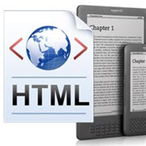 html format for kindle nook or kindle