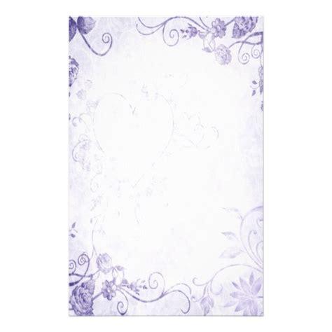 Wedding Border Paper by Pink Floral Borders Purple Vintage