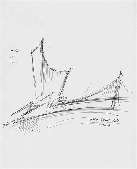 Studio C Sketches by The Ascent At Roebling S Bridge In Covington Kentucky By