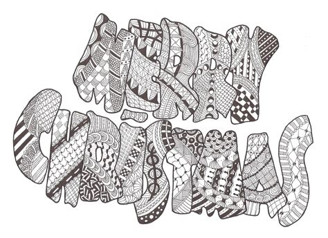 christmas zentangle coloring page zentangle made by mariska den boer 83 drawing christmas
